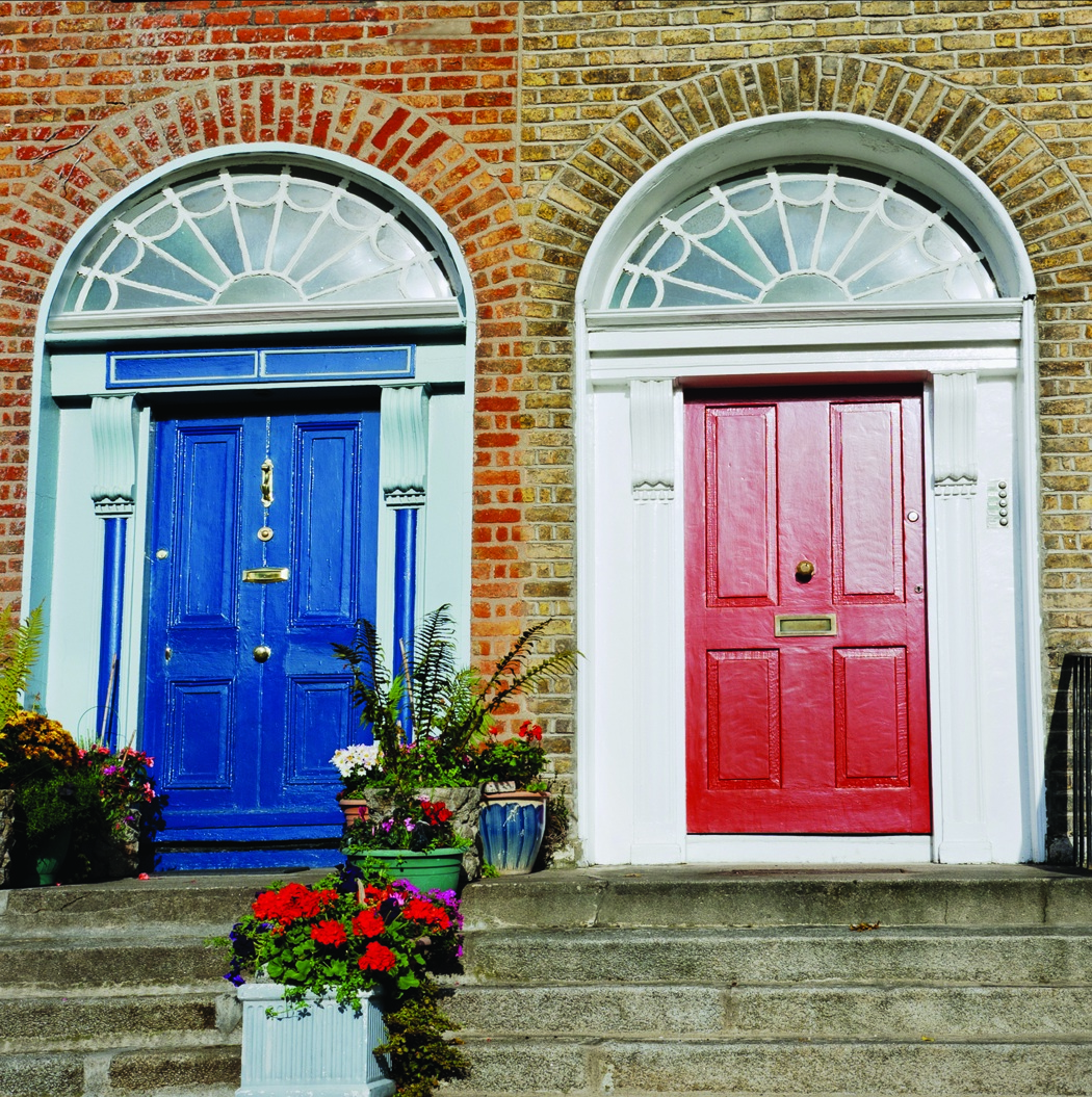 what message does your front door's color send? | atlanta home