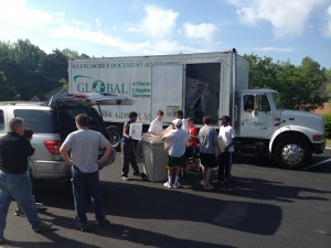 1st Annual Shred Event a success!
