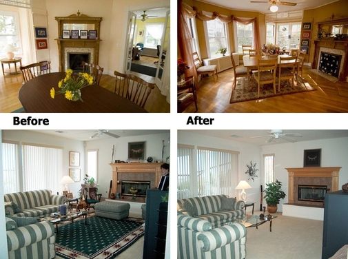 New home staging statistics show staged houses selling How to stage a home for sale pictures